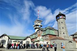 Krušné hory a města západních Čech