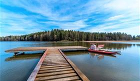 Česká Kanada s výlovem rybníka